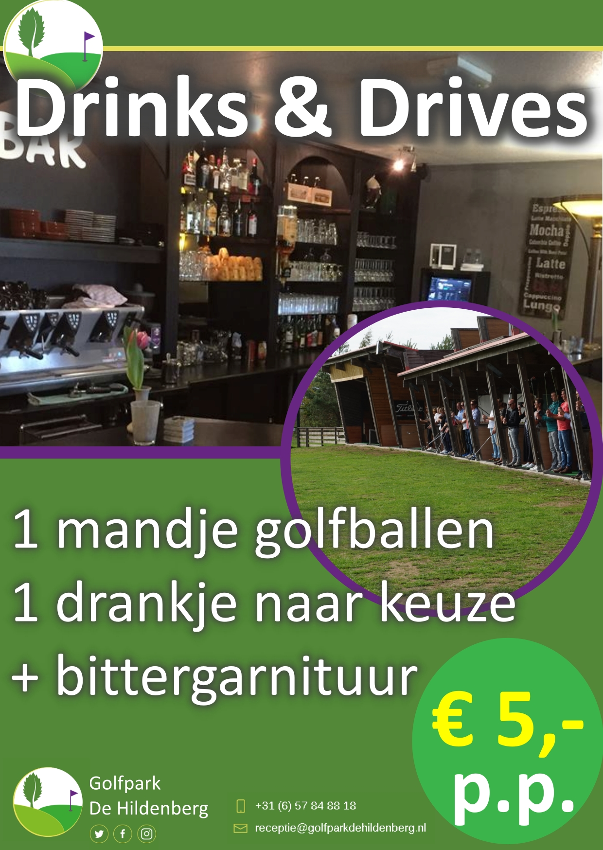 drinks and drives golfpark de hildenberg